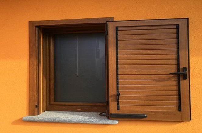 Villetta privata bagnaria pavia raf fer porte finestre milano - Porte finestre milano ...